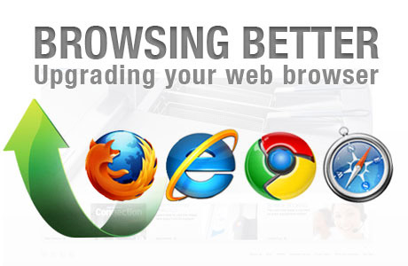 Upgrading your browser